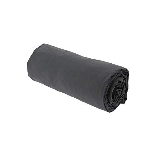 Drap House Percale 80x200 Bonnet 30 cm Gris - Couleur: Gris