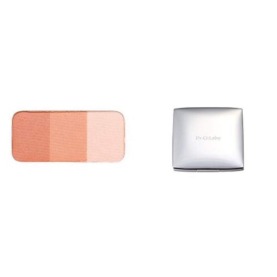 普及非難球体【セット買い】ドクターシーラボ チークカラー オレンジ 3色セット&ケース