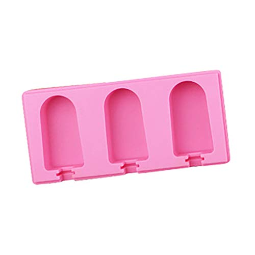 Silicone Popsicle Mould with Lid Cover, Ecstasi Ice Cream...
