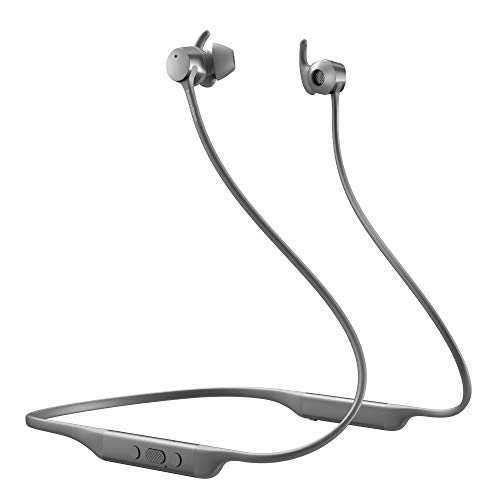 Bowers & Wilkins PI4 Cuffie wireless con cancellazione del rumore, con auricolari in-ear magnetici, Bluetooth 5.0 - argento