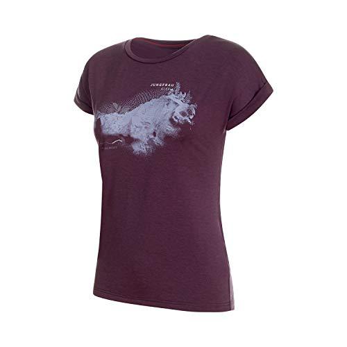 Mammut T-Shirt de Montagne pour Femme L Galaxy Melange Prt2.