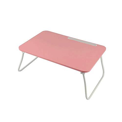 Z-Color Portátil Lap Desk, sostenedor del Soporte de Lectura portátil, Tabla del Cuaderno del Dormitorio Escritorio con Patas Plegables, for Comer el Desayuno, Lectura (60 x 40 cm)