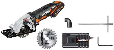 WORX WX523 20V 2.0Ah Worxsaw Cordless Compact Circular Saw