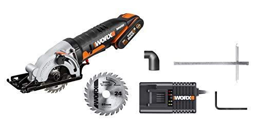 WORX WX527 18V (20V Max) Worxsaw Cordless Compact Circular Saw