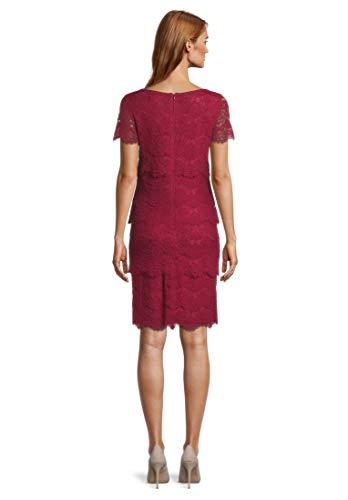Vera Mont Spitzenkleid Ruby Red, 38 Damen