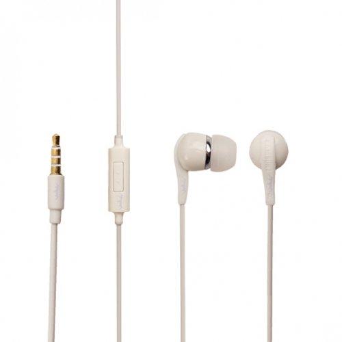 Original Samsung Headset EHS60 in Weiss Weiß für Samsung Galaxy S7 Edge SM-G935F InEar In-Ear Kopfhörer Ohrhörer 3,5mm Stecker Bulk verpackt + gratis Bildschirm Reinigungspad