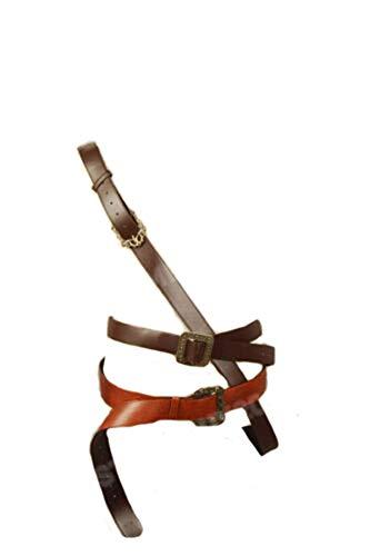prettycos Uomo Pirate Cintura Jack Sparrow Cintura Costume di Halloween Cosplay Prop