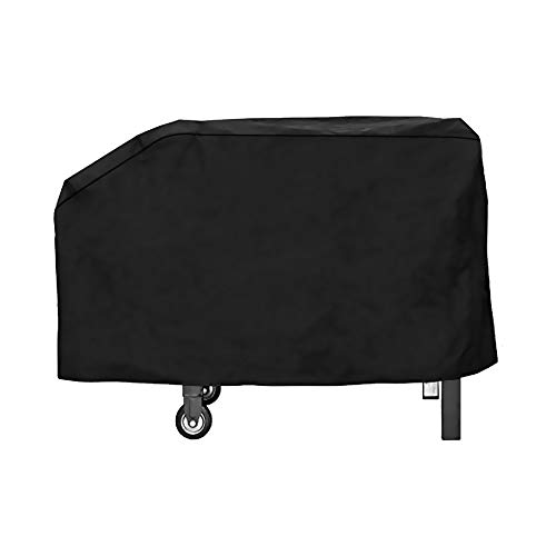Outspark 28 Inch Grill Griddle Cover 600D Water Proof Canvas for Blackstone 28 Inch Gas Grill Griddle Station Or Camp Chef Griddle Flat Top Grill Similar Size