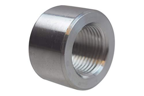 ICT Billet Aluminum -10AN Weld On Bung Female Nut Threaded 10 AN Insert Weldable AN871-10A