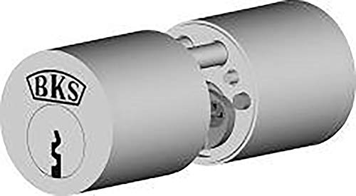 BKS Rundzylinder Alt 31070261 N, Vern, BL 29/29mm, mit 3 Schlüsseln