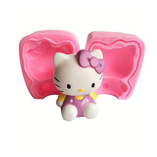 Backform Für Hello Kitty Aus Silikon Kuchen Muffincups Schokolade Seife Kuchenform Backen Nonstick Silikon Ei Ring Pfannkuchen Form