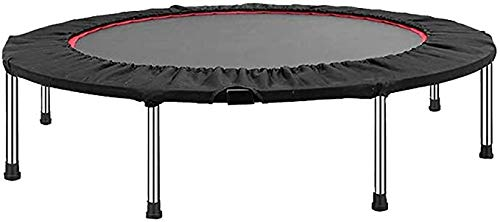 """XIAOXIAO Exercise Trampoline Trampoline 48"""" Mini Fitness Trampoline Indoor for Adults Best Home Exercise Indoor Children's Bounce Bed Adult"""