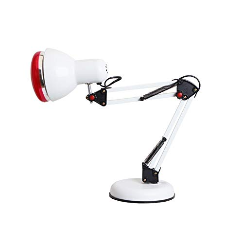 Best Bargain ZWJ-Infrared Therapy 100W Infrared Heat Lamp Dimmable Fixed Temperature Adjustable Arm ...