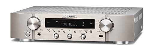Marantz NR1200 Stereo Receiver & HiFi Verstärker, Alexa kompatibel, 5 HDMI Eingänge, Phono-Eingang, Bluetooth & WLAN, DAB+ Radio, Musikstreaming, AirPlay 2, HEOS Multiroom