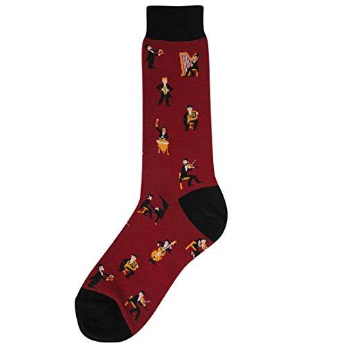 Foot Traffic, Men's Symphony Socks, Shoe Size 7-12