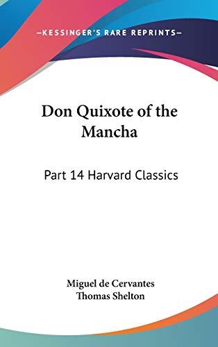 Don Quixote of the Mancha: Part 14 Harvard Classics