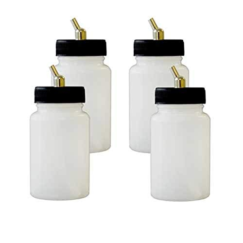 Paasche Airbrush 3oz Double Action Airbrush Bottle Assembly, 3 Ounce
