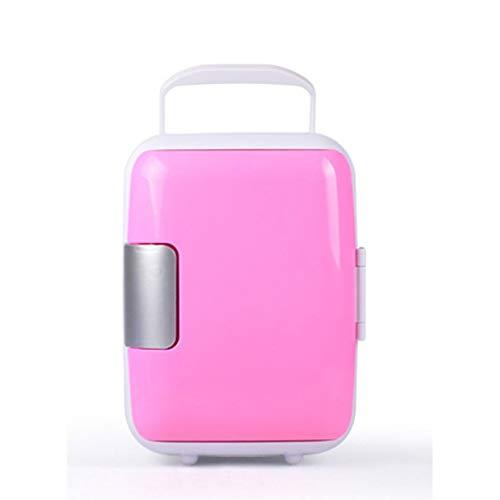 Ahorro de energía y respetuoso con el medio ambiente práctico coche portátil mini bebida refrigerador de viaje cosmético refrigerador