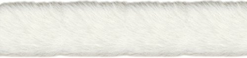 Wright Products Simplicity Fur Trim 2' X6yd, White