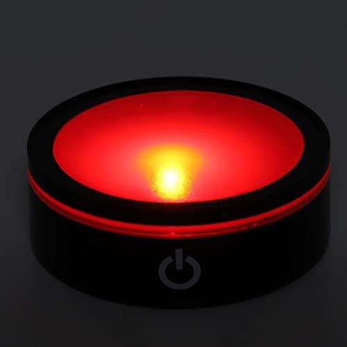 Jinyi Base de Talla 3D, Conveniente Base Colorida del Interruptor táctil para el hogar para el Dormitorio