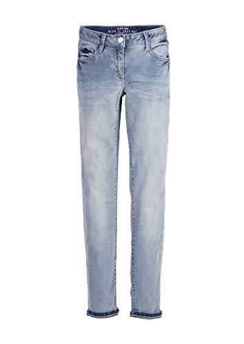 s.Oliver Mädchen Regular Fit: Slim Leg-Jeans Light Blue 158.REG
