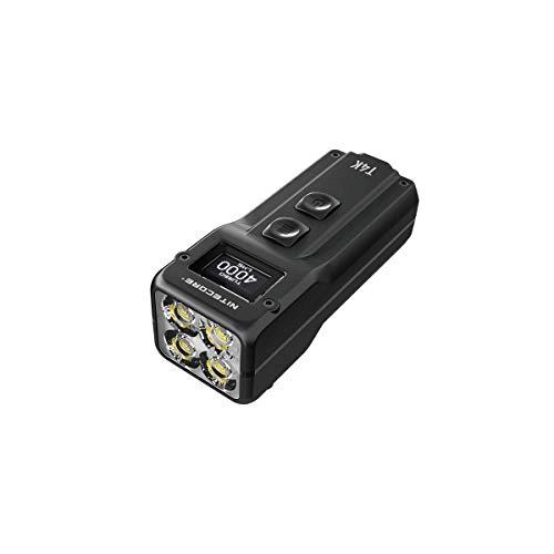 Nitecore T4K XP-L2 Taschenlampe, Typ C, wiederaufladbar, 4000 Lumen
