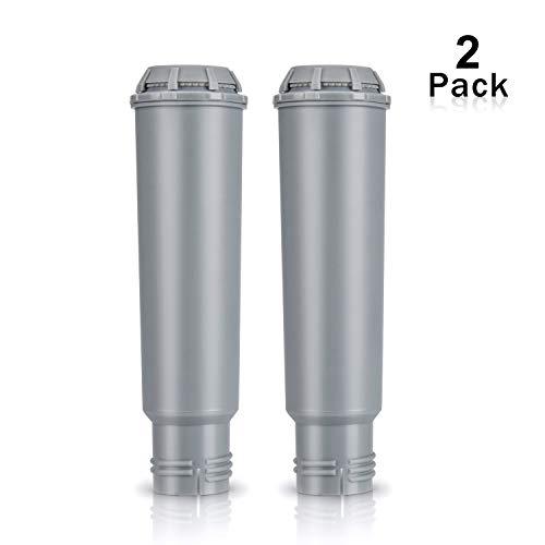 Rhodesy Filterpatrone für Melitta Kaffeevollautomaten, Wasserfilter für Krups Claris F088/Melitta Pro Aqua/Nivona NIRF-700, Kompatibel für Krups, Nivona, Siemens, Bosch, AEG, Neff, Gaggenau (2er Pack)