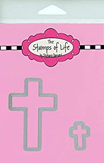 Christian Easter Die Cuts for Card-Making and Scrapbooking Supplies by The Stamps of Life - Cross Die