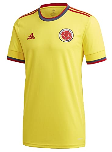 adidas 2021-22 Colombia Home Jersey - Yellow M