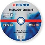 BERNER DISCO TAG METAL, 115 x 1 x 22,23 MM