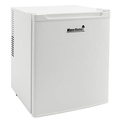 MaxxHome Mini Frigo - Mini Bar Termoelettrico e Piccolo Frigorifero Indipendente con Funzionamento Silenzioso – Temperatura Regolabile - 42L (Bianco)