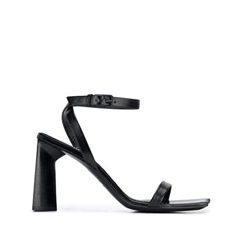 Balenciaga Luxury Fashion Donna 615766WA7601000 Nero Pelle Sandali | Stagione Permanente