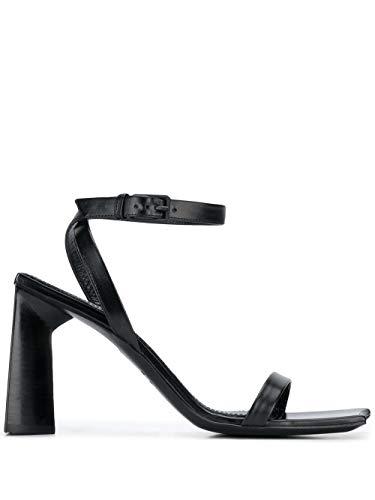 Balenciaga Luxury Fashion Damen 615766WA7601000 Schwarz Leder Sandalen   Jahreszeit Permanent