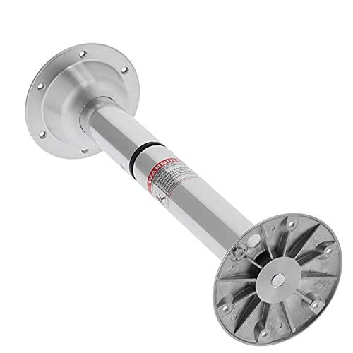 Jopwkuin Soporte de Mesa para caravanas, Pedestal de Aluminio para Mesa de 22 a 28 Pulgadas Ajustable para Yates Marinos
