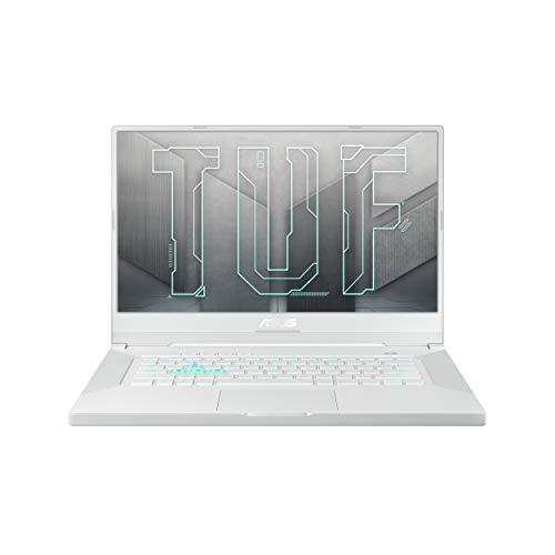 ASUS TUF DashF15 (2021), 15.6-inch (39.62 cms) FHD 144Hz, Intel Core i5-11300H 11th Gen, RTX3050 4GB Graphics Gaming Laptop (8GB RAM/512GB SSD/Windows 10/White/2 kg), FX516PC-HN057T, Moonlight White
