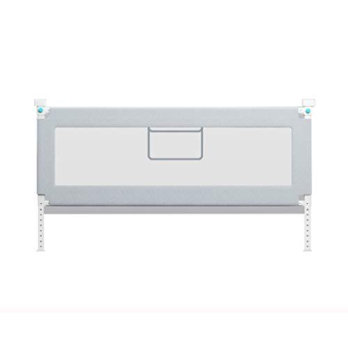 Poręcz do łóżka, pionowa szyna ochronna łóżeczka barierska barierka ogrodzenie zabezpieczenie przed upadkiem niemowlę dorosły poręcz łóżka (kolor: Szary, rozmiar: 150 cm)