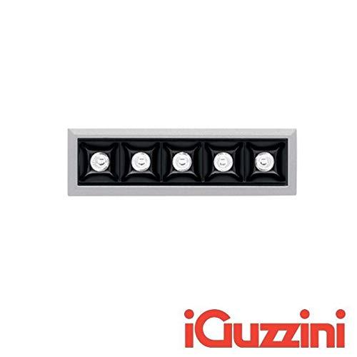 IGUZZINI MK51 Laser Blade Vertieft LED 10W 3000K 920 Lm Grau Schwarz