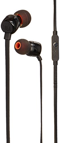 JBL T110 in Ear Headphones Black