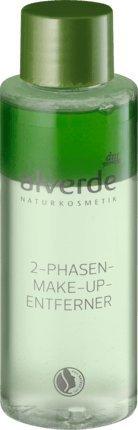 alverde NATURKOSMETIK vegan 2-Phasen-Make-up Entferner, 100 ml