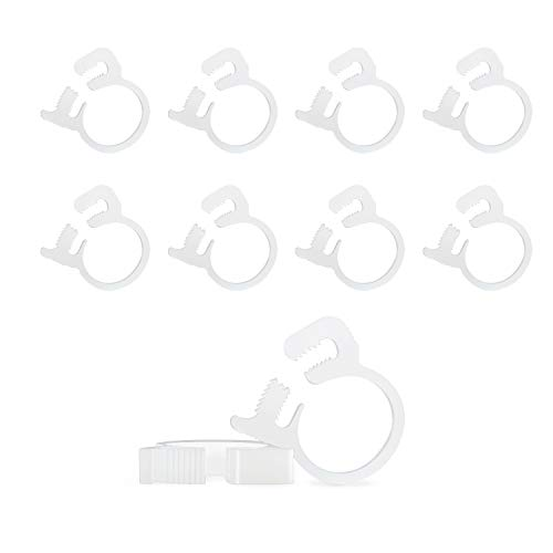 Review L Continue 10 PCS Sweep Hose Attachment Clamp B15 Replacement for Polaris 180 280 360 380 Poo...