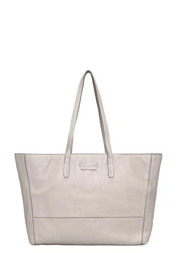 Liebeskind Berlin Damen Essential Shopper Large Schultertasche, Grau (String Grey), 14x30x36 cm