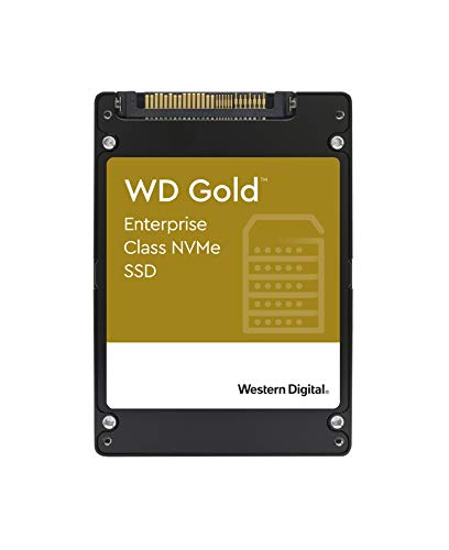 WD Gold NVMe SSD 7.68TB 2.5p U.2 2.5Zoll Schwarz