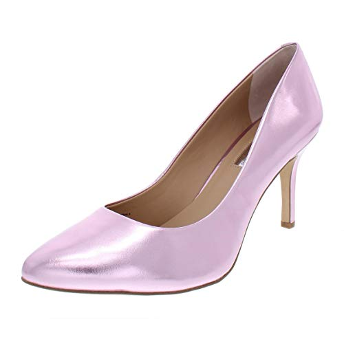 Price comparison product image INC International Concepts Womens Zitah Suede Pointed Toe,  Pink,  Size 8.5