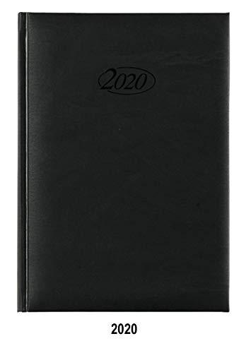 Stylex 90071 Buchkalender 2020 Chefkalender A5 Timer schwarz
