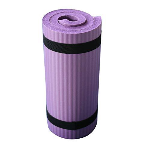 Alicer Esterilla de Yoga y Pilates, 60 x 25 x 1,5 cm, Esterilla de Yoga para Principiantes y avanzados Deporte y Entrenamiento, Color Morado, tamaño Tamaño Libre, 0.02, 12.60 x 3.94 x 3.15inches