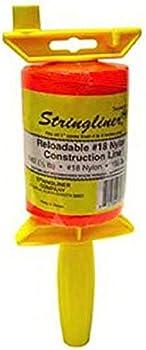 Stringliner Twisted 540-Feet Reloadable Construction Line Reel