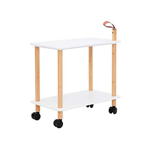AFDK Regale Bücherregal Sofa Beistelltisch Mobiler Beistelltisch Universalrad mit Bremse, Geeignet für Schlafzimmer Wohnzimmer,B,23,62 * 13,38 * 26,47 Zoll