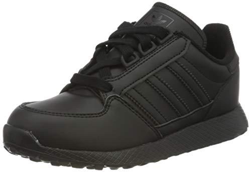 adidas Forest Grove C, Zapatillas de Gimnasio Unisex Niños, Core Black Core Black Core Black, 31.5 EU