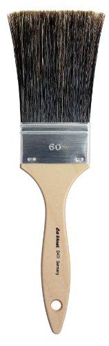 Da Vinci 2491Serie Peitsche Bürste, 60mm, Wildschwein Borsten, Holz, 27,5x 6x 30cm