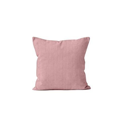 Soleil d'ocre Leo - Funda de cojín (60 x 60 cm, poliéster), Color Rosa